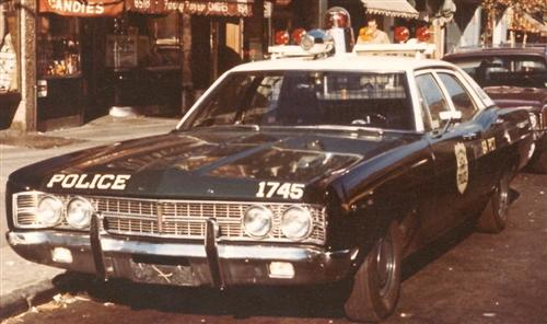 A/M NYPD Light/Sirens - Car Aftermarket / Resin - Model Cars